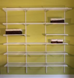 72 Inch Adjust Shelf Closet With Adjustable Shelves Adjustashelf